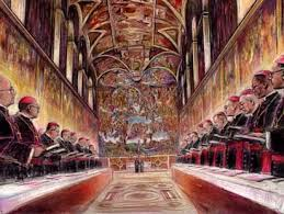 The Doors to the Sistine Chapel Now are Closed and Guarded